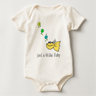Just a little fishy baby bodysuit