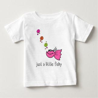Just a little fishy tee shirt
