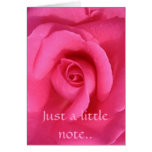 Just a little note.. card