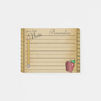 Just a Little Note Vintage Style | Teacher