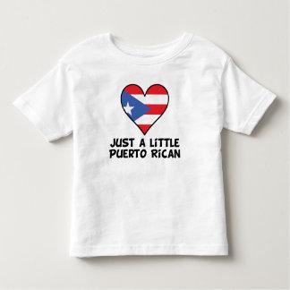 Just A Little Puerto Rican Toddler T-shirt