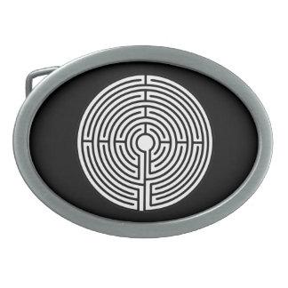 Just a Maze Belt Buckles