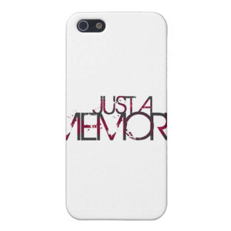 Just A Memory Logo Case For iPhone SE/5/5s