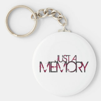 Just A Memory Logo Keychain