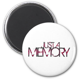 Just A Memory Logo Magnet