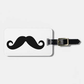 Just a Mustache. Bag Tag