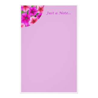 Just a Note... Stationary Stationery