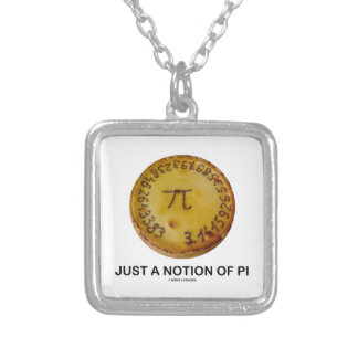 Just A Notion Of Pi (Pi On A Pie) Jewelry