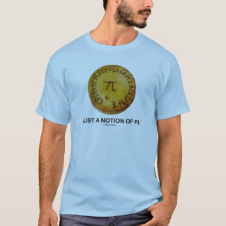 Just A Notion Of Pi (Pi On A Pie) T-Shirt