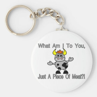 Just A Piece Of Meat Key Chains