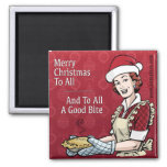 Just A Pinch Merry Christmas Refrigerator Magnet Refrigerator Magnet