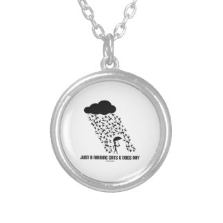 Just A Raining Cats And Dogs Day Necklaces