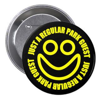 Just a Regular Park Guest Button