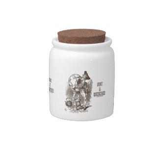 Just A Reminder Humpty Dumpty Servant's Ear Candy Jar