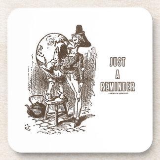 Just A Reminder Humpty Dumpty Servant's Ear Beverage Coasters