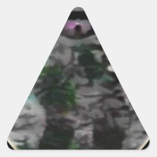 Just a small step triangle sticker