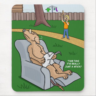 Just a Stick Placemat Mouse Pads