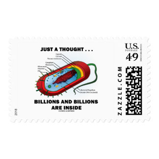 Just A Thought... Billions and Billions Inside Postage