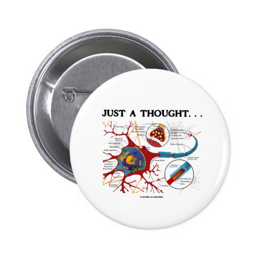 Just A Thought... (Neuron / Synapse) Button