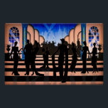 """Just a Touch Of 1920's Glamour Poster<br><div class=""""desc"""">Add a touch of class to your walls with this original design with art-deco influence. Visit the past and return with what's hot today.</div>"""