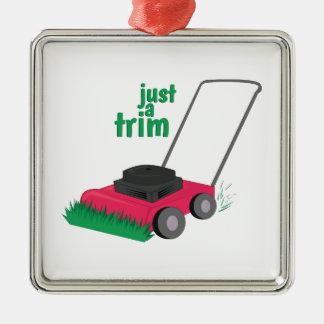 Just A Trim Christmas Tree Ornament