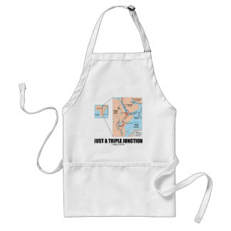 Just A Triple Junction (Afar Triangle) Adult Apron