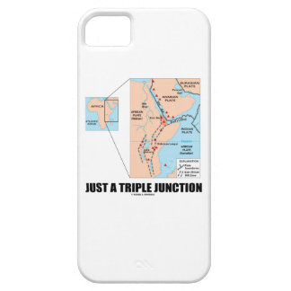 Just A Triple Junction (Afar Triangle) iPhone 5 Cases