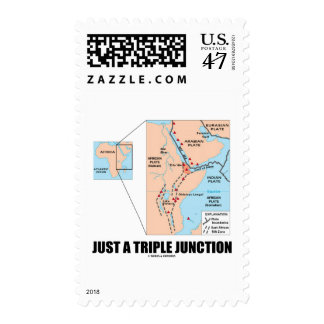 Just A Triple Junction (Afar Triangle) Postage