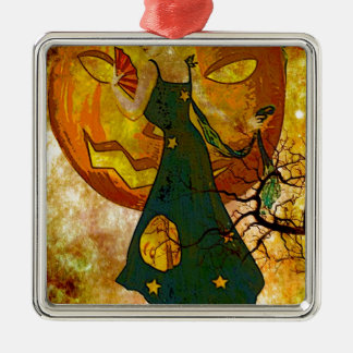 JUST A WALK WITH THE GHOULS.jpg Metal Ornament