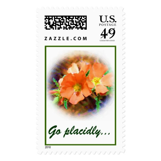 """Just a """"Weed"""" DESIDERATA Postage"""