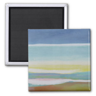 Just Above Sea Level 2004 2 Inch Square Magnet