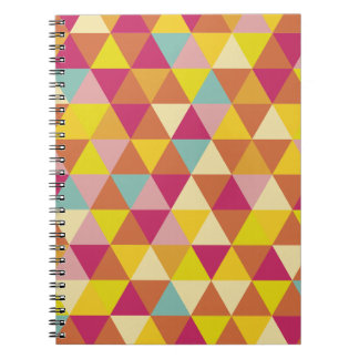 Just abstract spiral notebook