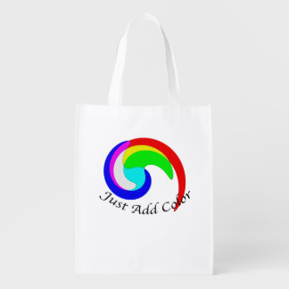 Just Add Color Additive Color Combinations Spiral Market Totes