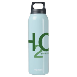 Just Add Water in Edible Edamame Insulated Water Bottle