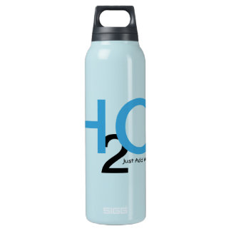 Just Add Water in Peacock Passion Insulated Water Bottle