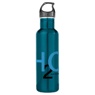 Just Add Water in Peacock Passion 24oz Water Bottle