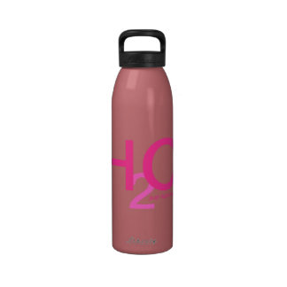 Just Add Water in Pink A Plenty Reusable Water Bottles