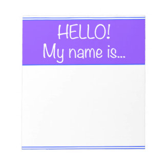 Just add YOUR NAME Notepad