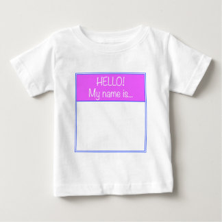Just add YOUR NAME T Shirt