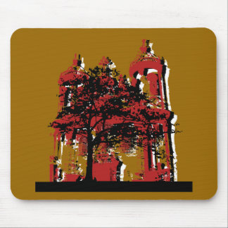 Just an Old Building Mouse Mat