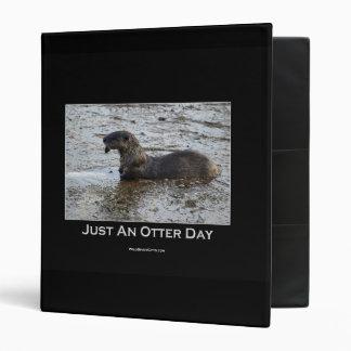 Just an Otter Day Binder