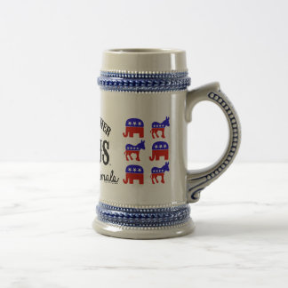 JUST ANOTHER CIRCUS™ Election Commuter Beer Stein