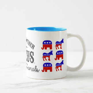 JUST ANOTHER CIRCUS™ Election Two-Tone Mug
