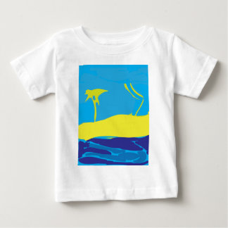 Just Another Day at the Beach Baby T-Shirt