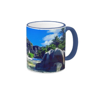 ... Just another day in Paradise ... Ringer Mug