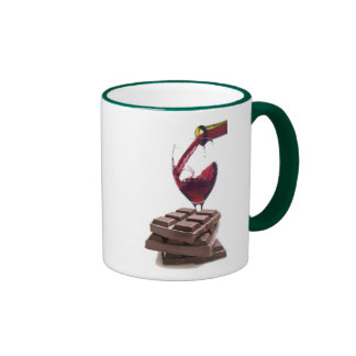 Just Another Day in Paradise - Ringer Mug