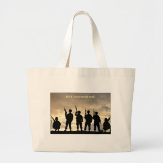 Just Another Day Large Tote Bag