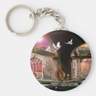 Just another fairy tale.. basic round button keychain