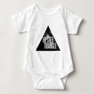 Just Another Hipster Triangle Baby Bodysuit