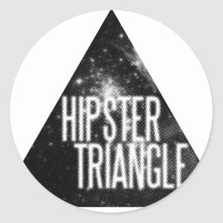 Just Another Hipster Triangle Sticker
